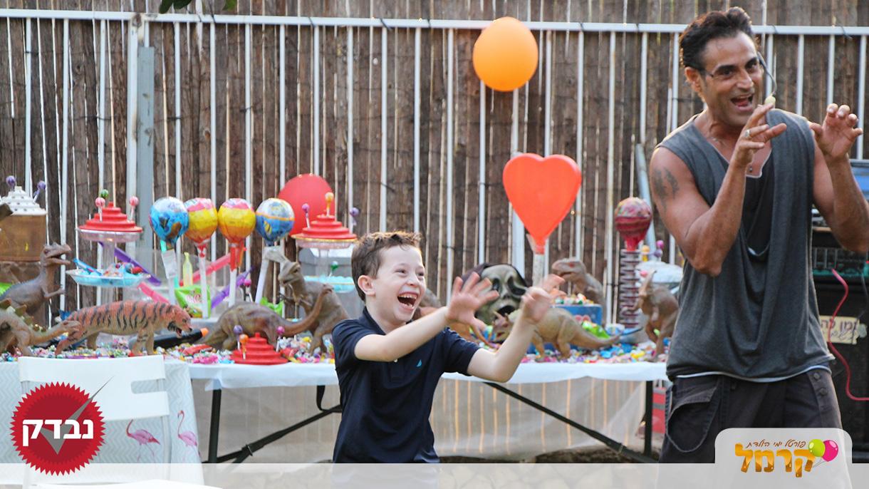 יובלדת יום הולדת וסטנד אפ - 073-7576368